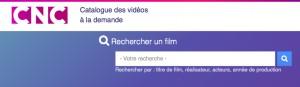 Catalogue de vidéos à la demande